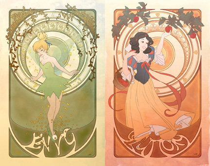 7 Deadly Sins of Disney Princesses (1/3)