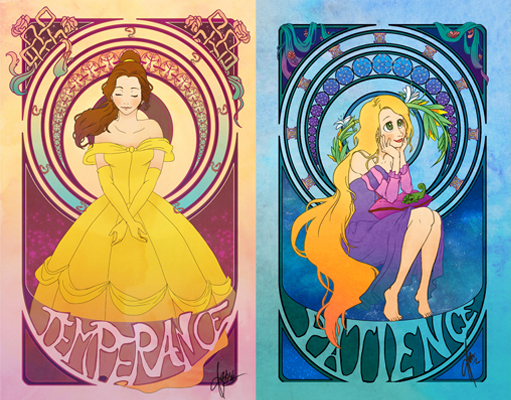 7 Virtues of Disney Princesses (1/3)