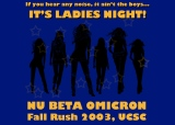 NBO Flyer – Ladies Night