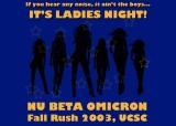 NBO Flyer – LadiesNight