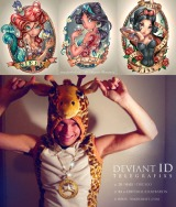 Disney Princesses in TattooForm