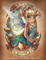 Disney Princess Pin Up Girl Tattoo – Tinkerbell!