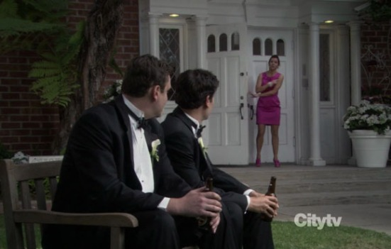 ted and robin first hook up