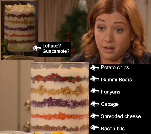 newhow i met your mother eriksen seven layer salad to use