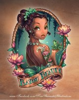 Disney Princess Pinup Girl Tattoo – Tiana!