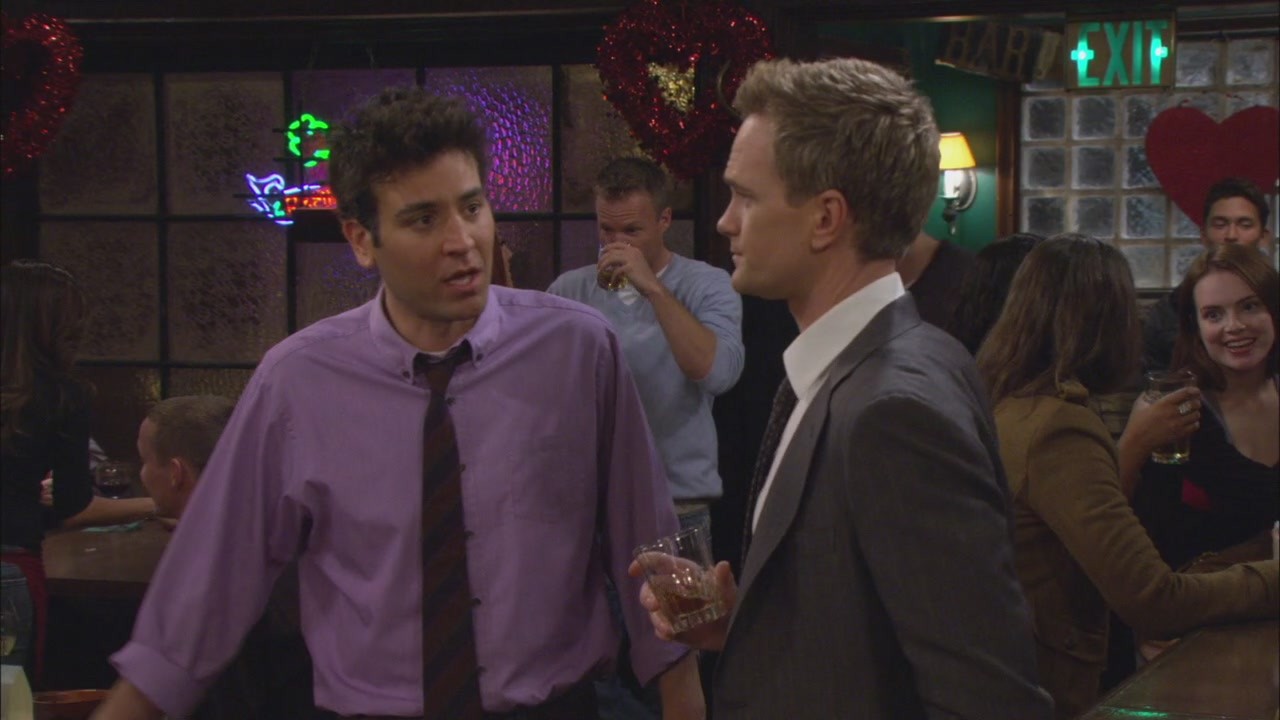 Himym How Color Theory Convinced Me That Barney Marries Robin