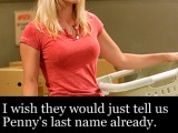Big Bang Theory: What The Hell Is Penny's Last Name??