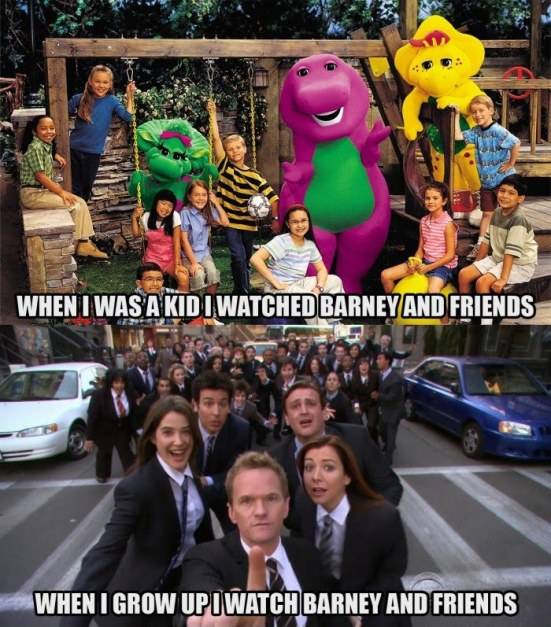 How I Met Your Mother Friends Episode : Himym how color theory convinced me that barney marries