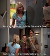 Big Bang Theory: Per the Pilot, Sheldon Enjoys Solo Coitus