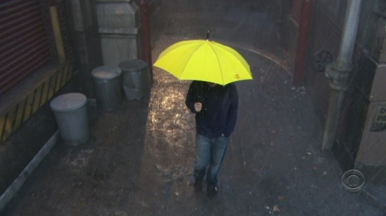 ted yellow umbrella no tomorrow