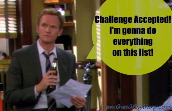 how i met your mother barney challenge accepted