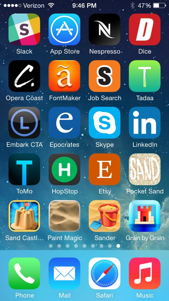 HIMYM App Icon Art: Sandcastles In The Sand