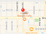 I've Found San Diego's Secret Job Portal: The Corner Bakery Cafe Downtown
