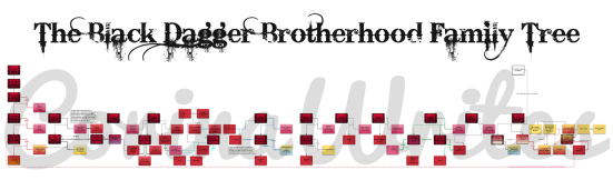 BDB Black Dagger Brotherhood Family Tree